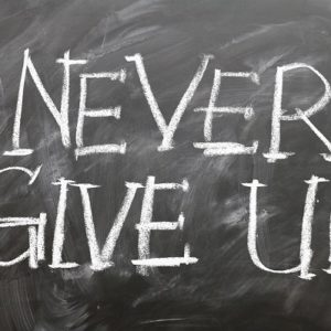 lavagna: never give up