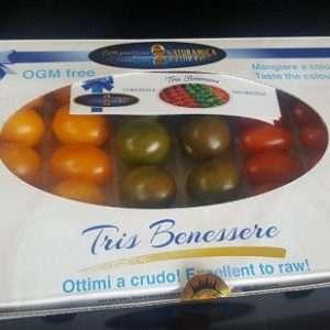 cofanetto pomodori colorati tris benessere lorenzini