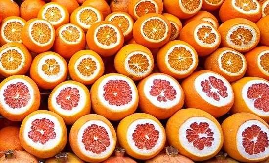 arance e pompelmi