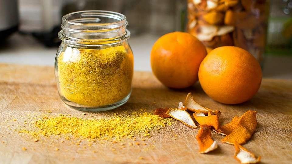 arancia essiccata