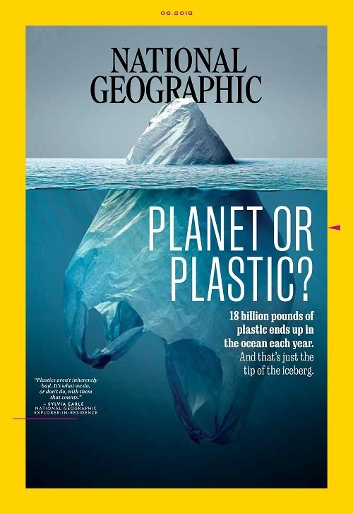 national geografic Planet or plastic