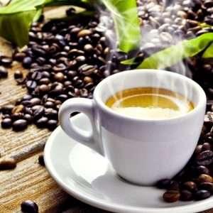 caffè etichetta gusto