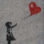 murale bambino cuore