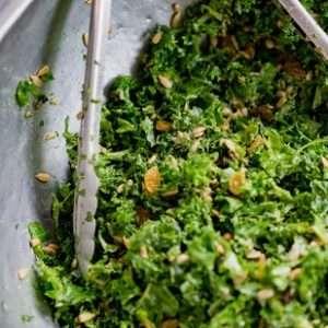 cavolo riccio insalata