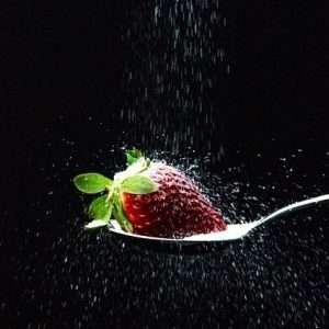 fragola e zucchero